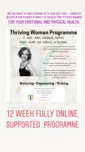 Thriving Woman Online Programme